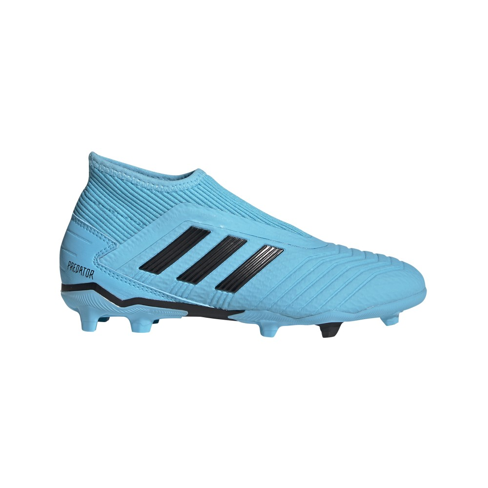 calcio ADIDAS scarpe da calcio predator 19.3 ll fg azzurro