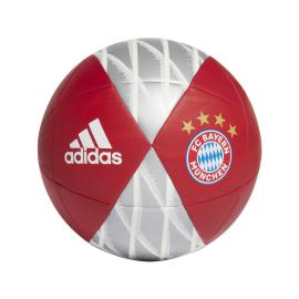 ADIDAS pallone da calcio bayern rosso bianco uomo