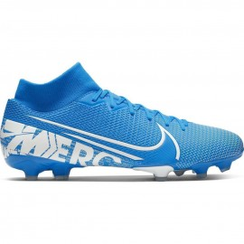 Nike Scarpe Da Calcio Superfly 7 Academy Fg Mg Blu Bianco Uomo