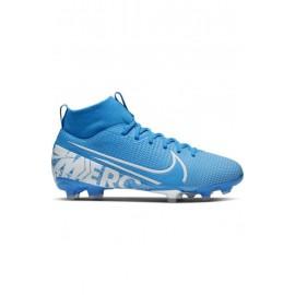 Nike Scarpe Da Calcio Superfly 7 Academy Fg Mg Blu Bianco