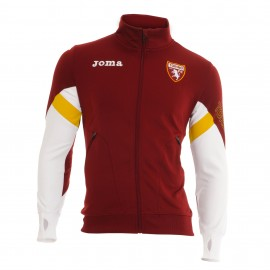 Joma Sport Felpa Full Zip Torino Granata Bianco Bambino
