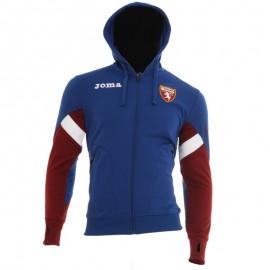Joma Sport Felpa Calcio Cappuccio Torino Staff Blu Uomo