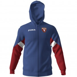 Joma Sport Felpa Calcio Cappuccio Torino Staff Blu Bambino