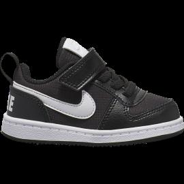 Nike Sneakers Court Borought Pe Low Tdv Nero Bianco Bambino