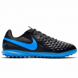 Nike Scpa Legend 8 Club Tf Nero Blu Bambino