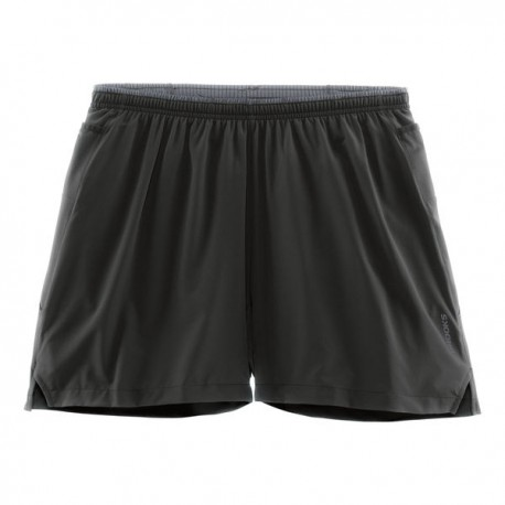 "Brooks Short 5"" Run Sherpa Black"