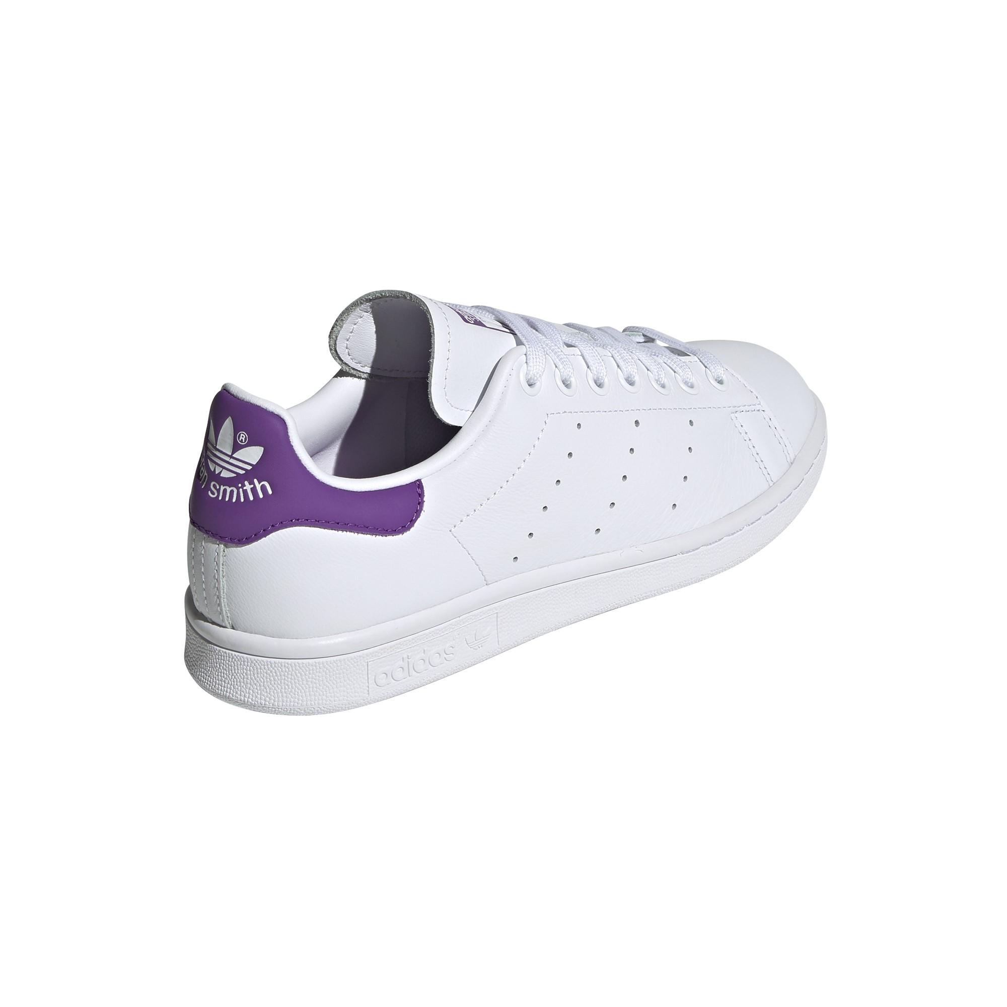 style ADIDAS originals sneakers stan smith lea bianco viola donna e