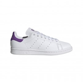 ADIDAS originals sneakers stan smith lea bianco viola donna