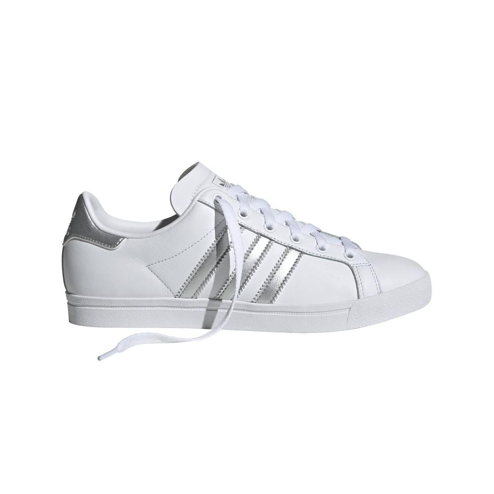 style ADIDAS originals sneakers coast star bianco argento