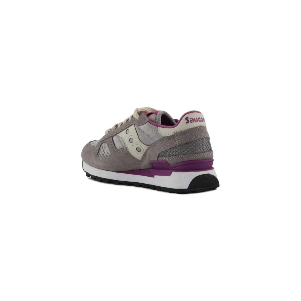 Style Saucony Sneakers Shadow O Grigio Fuxia Donna 1108618