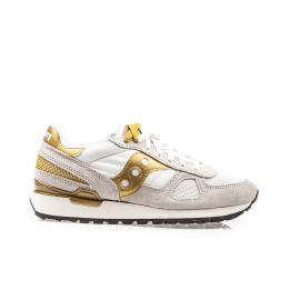 Saucony Sneakers Shadow O Panna Oro Donna