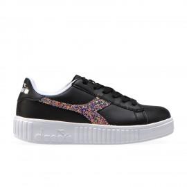 Diadora Sneakers Game Step Gs Nero Rosa Bambino