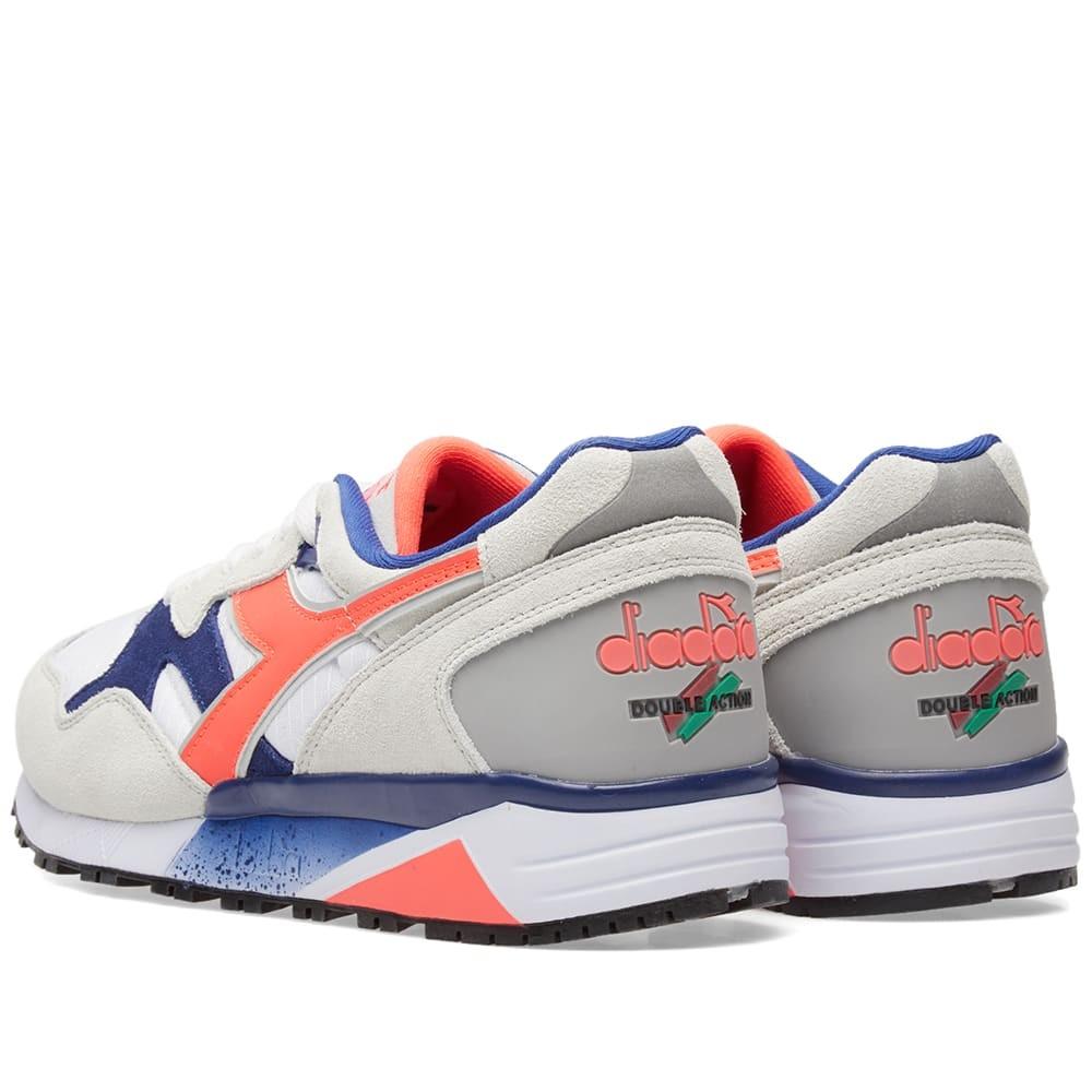 Diadora Sneakers N9002 Bianco Corallo Uomo Acquista online