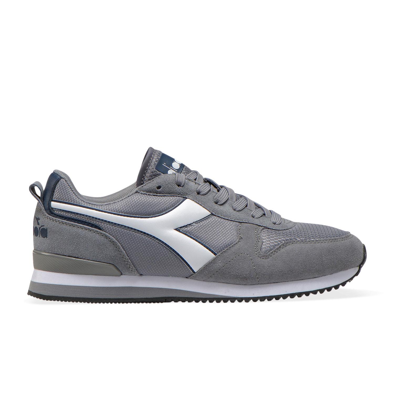 Style Diadora Sneakers Olympia Grigio Bianco Uomo 174376 75073 Ac