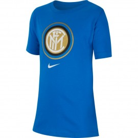 Nike Maglia Calcio Inter Fan Blu Bambino