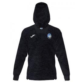 Joma Sport Felpa Calcio Cappuccio Atalanta Free Time Nero Uomo