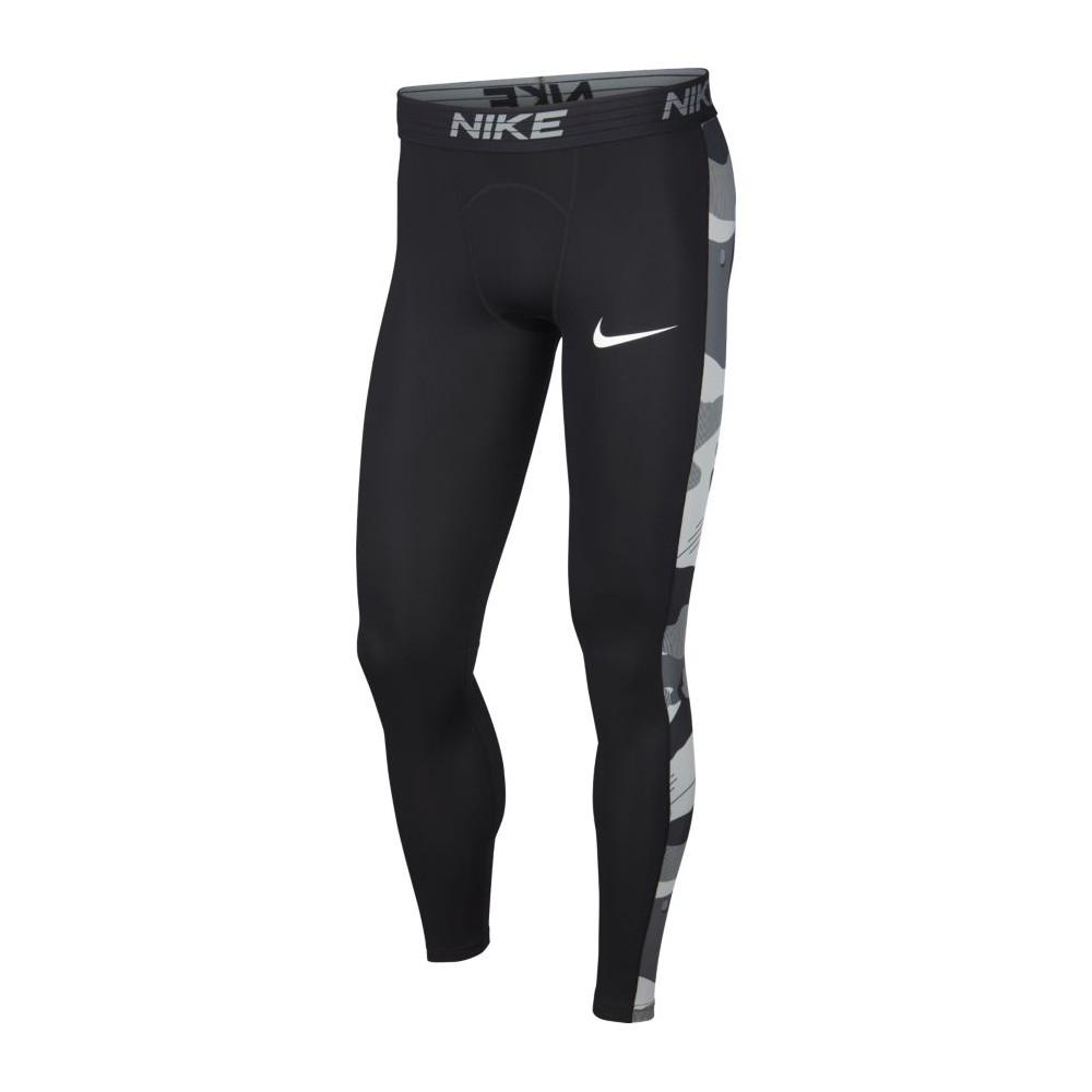 Palestra Nike Leggings Sportivi Banda Camou Nero Uomo BV5523