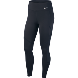 Nike Leggings Sportivi Rain Rebel Nero Donna