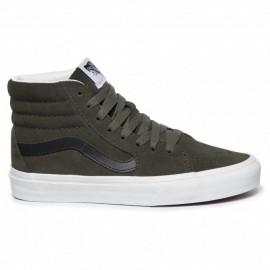 Vans Sneakers Sk8 Hi Suede Nero Verde Uomo