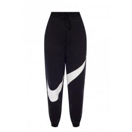 Nike Pantalone Palestra Swoosh Nero Donna