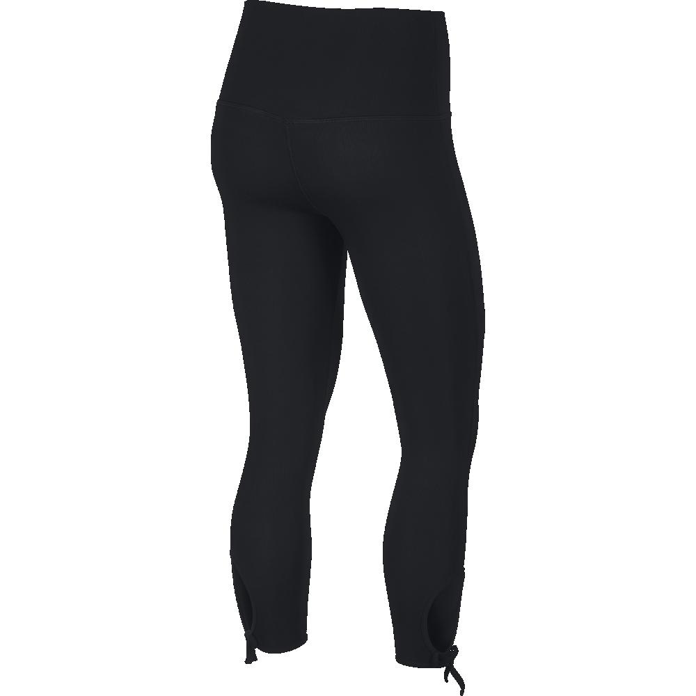 Palestra Nike Leggings Sportivi Yoga Regular Nero Donna BV4568 010