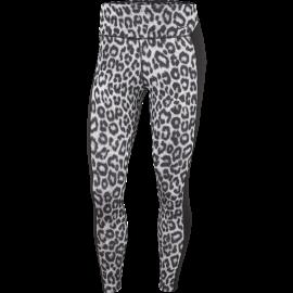 Nike Leggings Sportivi Train Leopard Grigio Donna