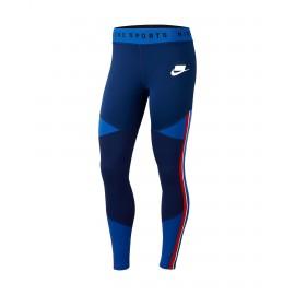 Nike Legging Sportswear Blu Donna