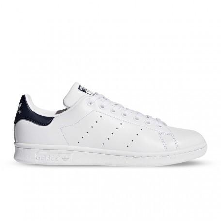 style ADIDAS originals sneakers stan smith lea bianco blu uomo m203