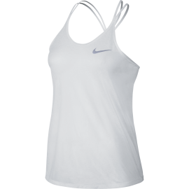 Nike Canotta Breeze Run Bianco Donna