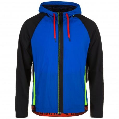 Nike Giacca Sportiva Train Sport Pack Blu Uomo