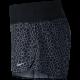 Nike Short Rival 3 Run Nero Print Donna