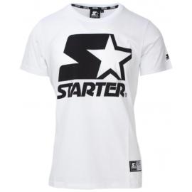 Starter Maglietta Palestra Logo Bianco Uomo