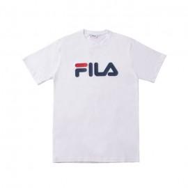 Fila Maglietta Palestra Logo Bianco Uomo