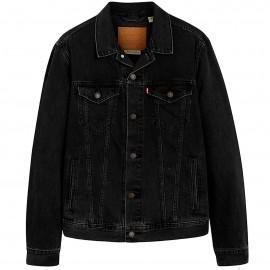 Levi's Giubbotto Jeans Black Uomo