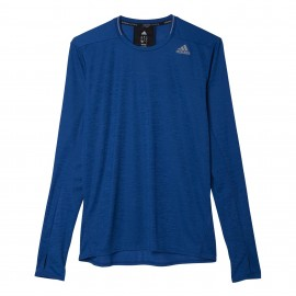 ADIDAS t-shirt ml run supernova blue
