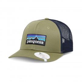 Patagonia Cappello Trekking P-6 Logo Sage Beige Uomo