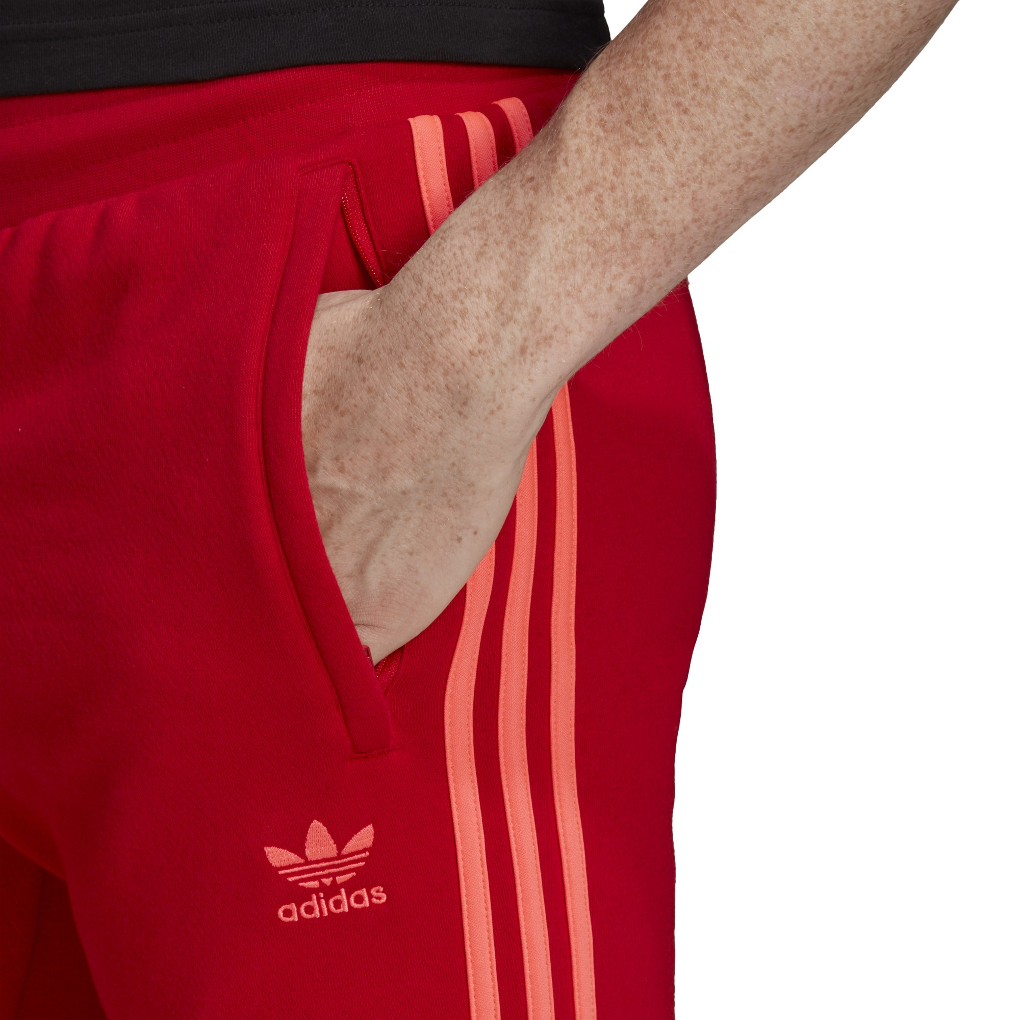 pantaloni adidas uomo bianchi e rossi