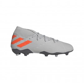 Adidas Scarpe Da Calcio Nemeziz 19.3 Fg Rosso Grigio Uomo