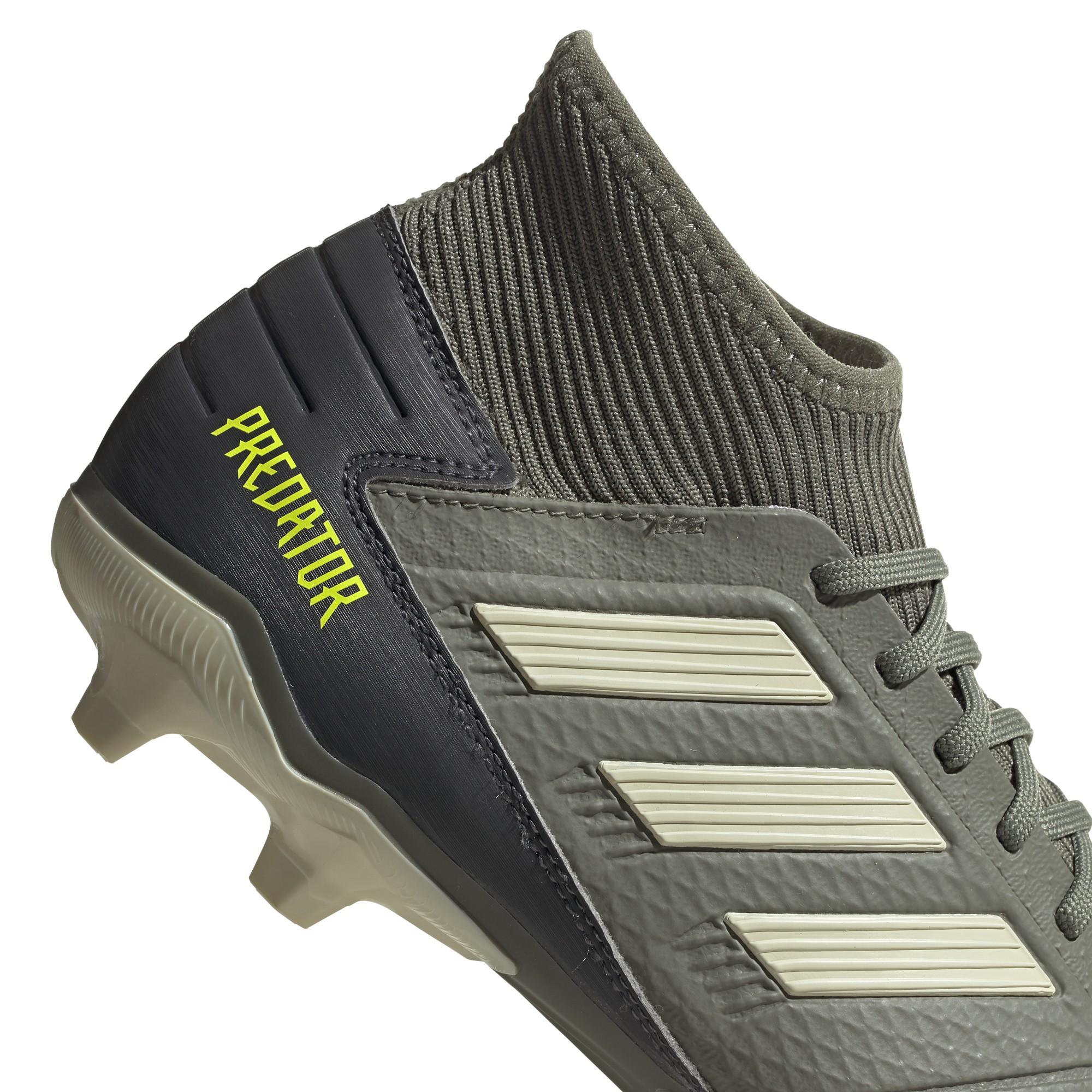 calcio ADIDAS scarpe da calcio predator 19.3 fg verde beige uomo ef