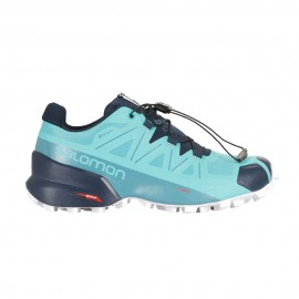 Salomon Scarpe Trail Running Speedcross 5 Gtx Azzurro Donna