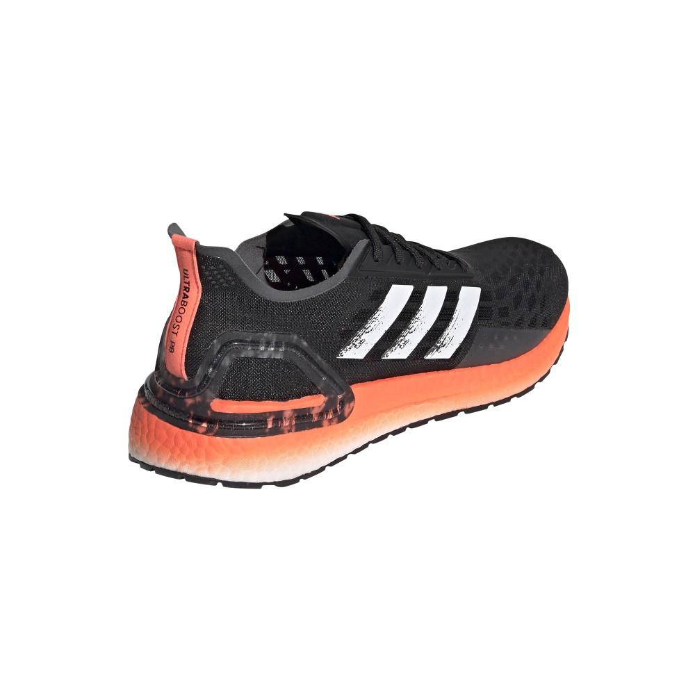 ADIDAS scarpe running ultraboost pb core nero bianco uomo