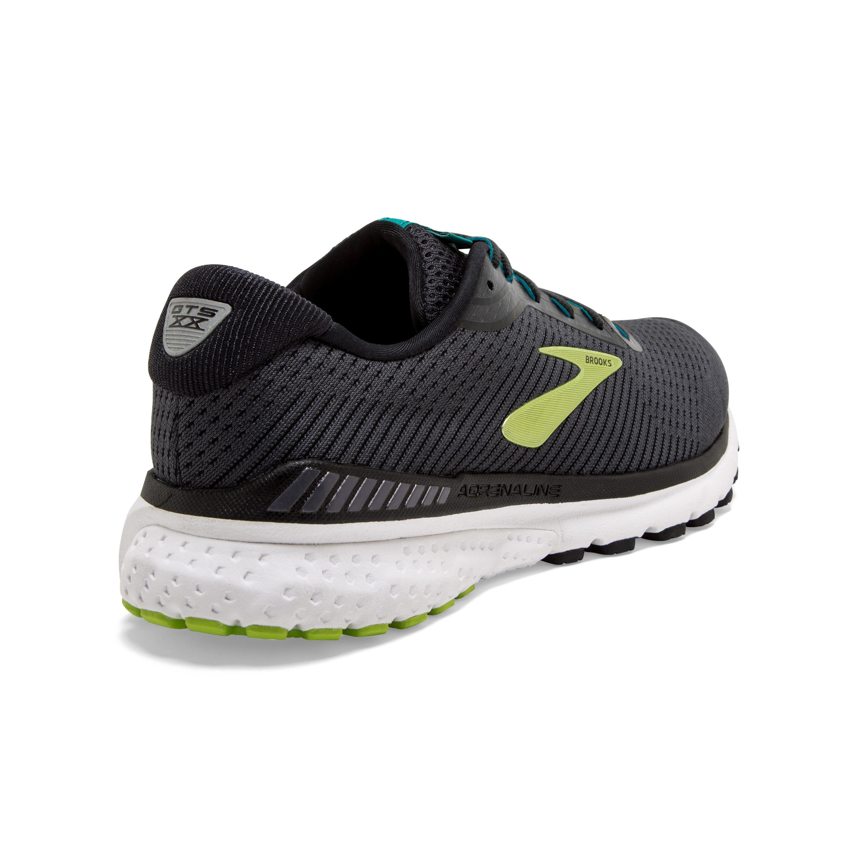Running Brooks Scarpe Running Adrenaline Gts 20 Nero Lime Uomo 1103