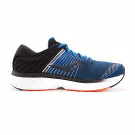 Saucony Scarpe Running Triumph 17 Blu Nero Uomo
