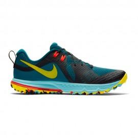 Nike Scarpe Air Zoom Wildhorse 5 Trail Blu Uomo