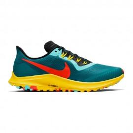 Running Nike Scarpe Air Zoom Pegasus 36 Trail Blu Rosso Uomo