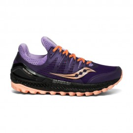 Saucony Scarpe Trail Running Xodus Iso3 Viola Arancio Donna