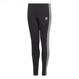ADIDAS originals leggings 3 stripes nero bambino