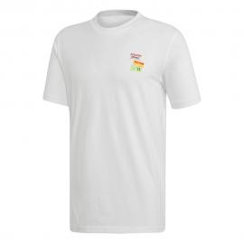 ADIDAS originals t-shirt bodega bianco uomo