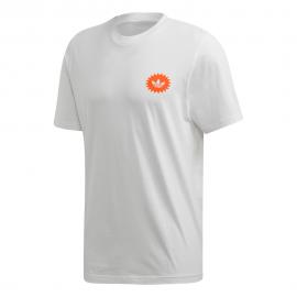 ADIDAS originals t-shirt giro bodega bianco uomo