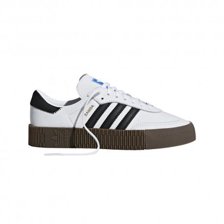 ADIDAS originals sneakers sambarose bianco nero donna